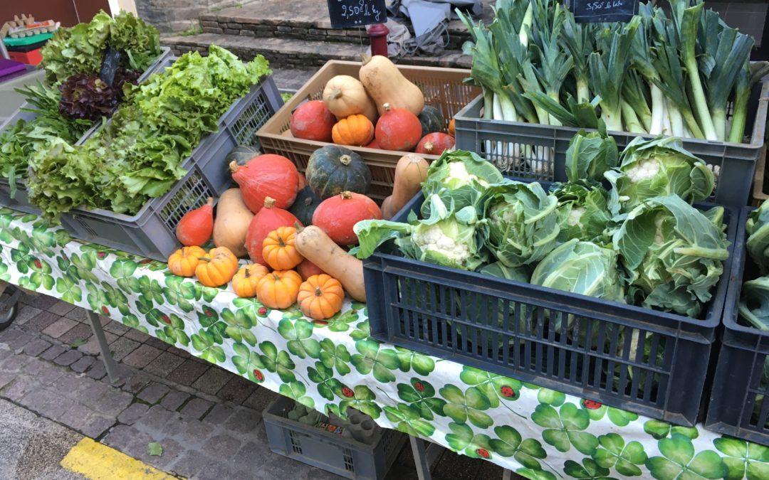Faire le marché: Un très bon début pour devenir autosuffisant alimentaire